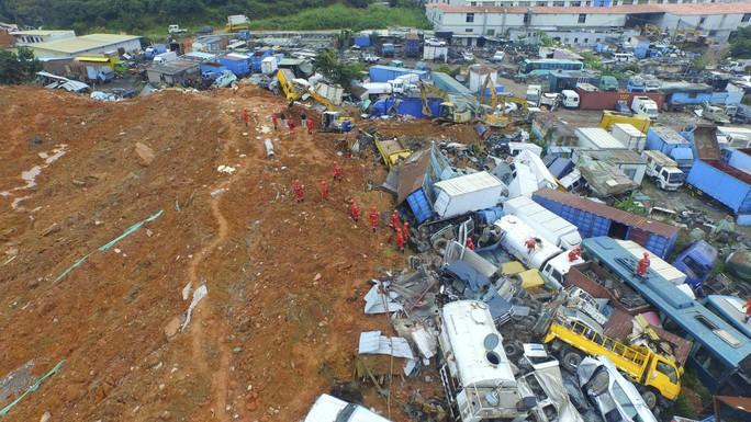 Vụ lở đất ở Thâm Quyến hôm 20-12. Ảnh: Reuters