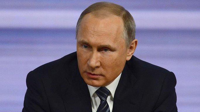 Tổng thống Nga Vladimir Putin. Ảnh: Anadolu