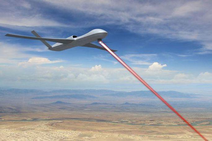 Mỹ sắp thử nghiệm vũ khí laser tàng hình. Ảnh: General Atomics