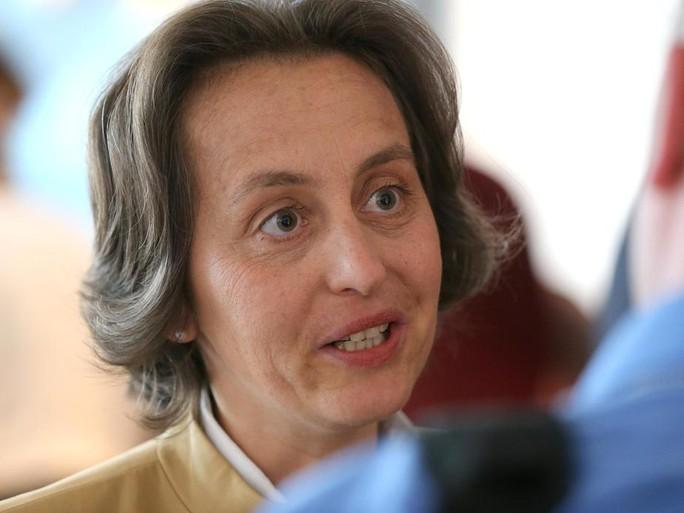Bà Beatrix von Storch. Ảnh: DPA