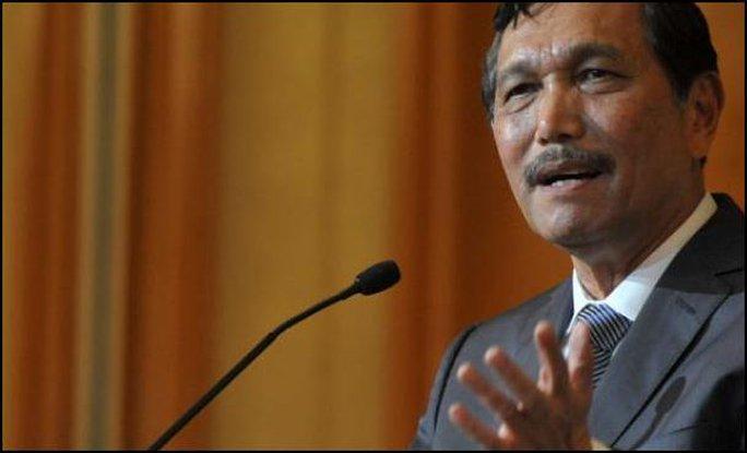 Bộ trưởng An ninh Indonesia Luhut Panjaitan. Ảnh: http://luhutpandjaitan.com/