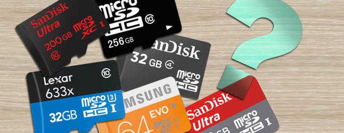 Cần lưu ý gì khi chọn mua thẻ nhớ?