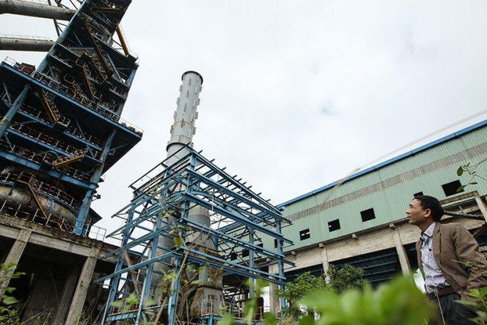 """Lại thêm một nhà máy được xây từ năm 2007 đến nay đang... """"đắp chiếu""""."""
