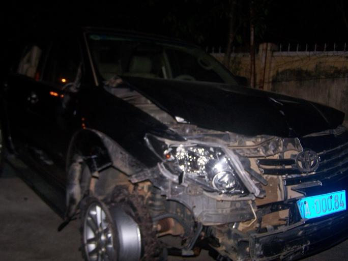 Chiếc xe của Viện kiểm sát gây tai nạn liên hoàn