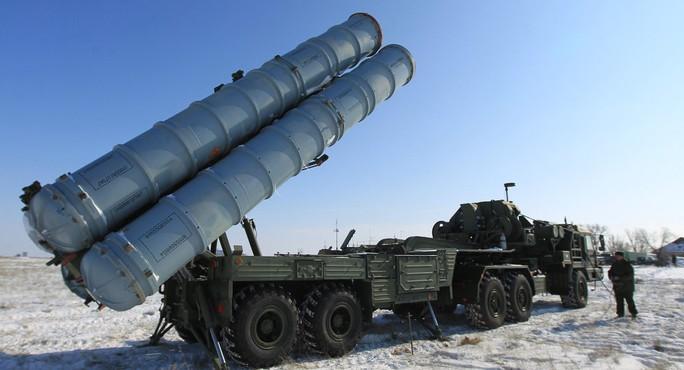 Hệ thống tên lửa phòng không S-500. Ảnh: Sputnik News