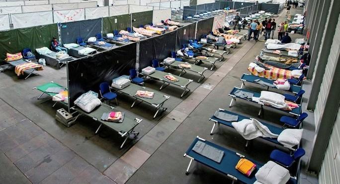 """Khoảng 700 người tị nạn tại các cơ sở tạm trú thuộc bang Niedersachsen đã """"biến mất"""" bí ẩn. Ảnh: AP"""