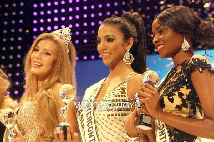 """Người đẹp Nga đăng quang """"Hoa hậu Liên lục địa"""" 2015"""