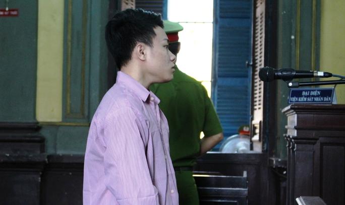 Bị cáo Hà Tấn Chí tại phiên tòa phúc thẩm