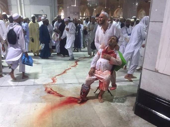 Hàng trăm tín đồ thương vong. Ảnh: Makkah And Madinah 24H Live