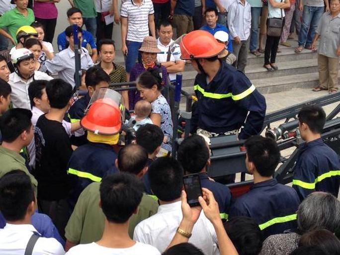 Hà Nội: Cháy tại chung cư 36 tầng ở Linh Đàm