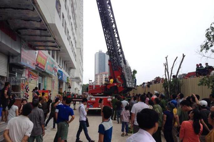 Vụ cháy tại chung cư HH4B khu đô thị Linh Đàm, (Hà Nội)