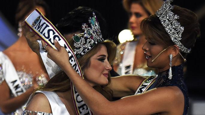 Chiêm ngưỡng vẻ đẹp Tân Hoa hậu Venezuela