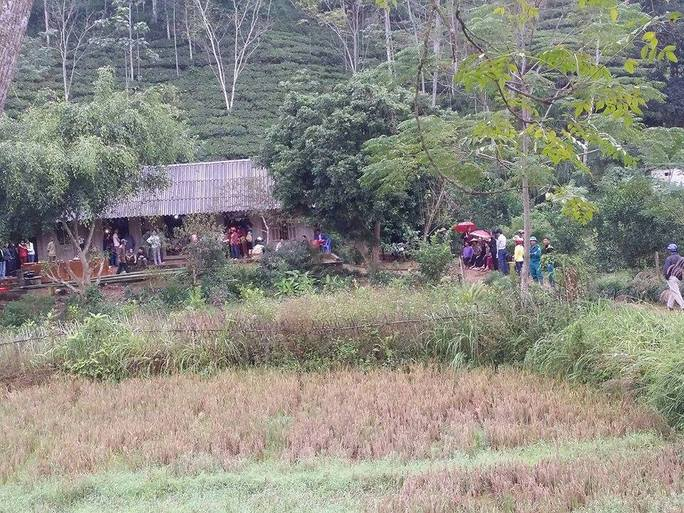 Căn nhà nơi Thành đang tâm giết 2 con rồi tự tử