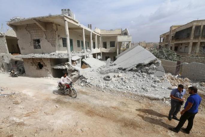 Nhiều khu vực ở Aleppo tan hoang do chiến trận. Ảnh: Reuters