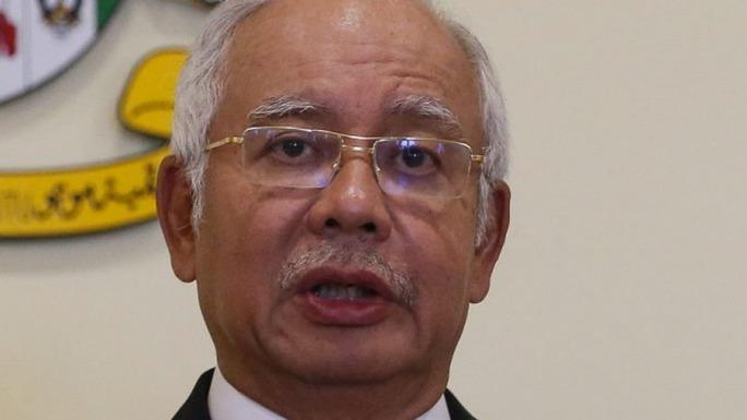 Thủ tướng Najib Razak đang đối mặt với sự chỉ trích chưa từng có. Ảnh: AP