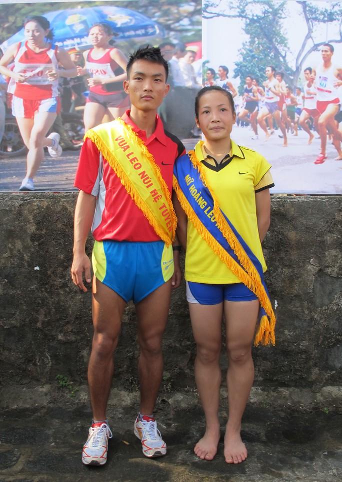 Hoàng Nguyên Thanh và Hoàng Thị Thanh chinh phụ các cự ly marathon nam và nữ