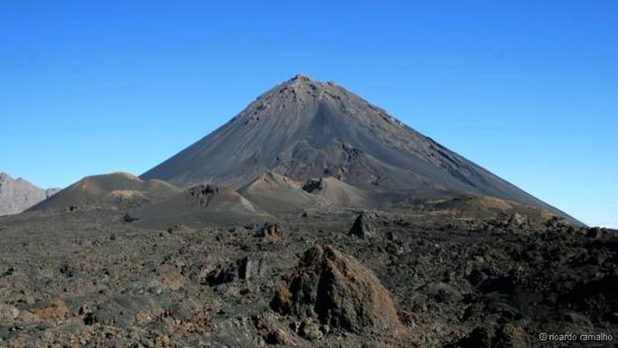 Núi lửa Pico do Fogo Ảnh: Ricardo Ramalho