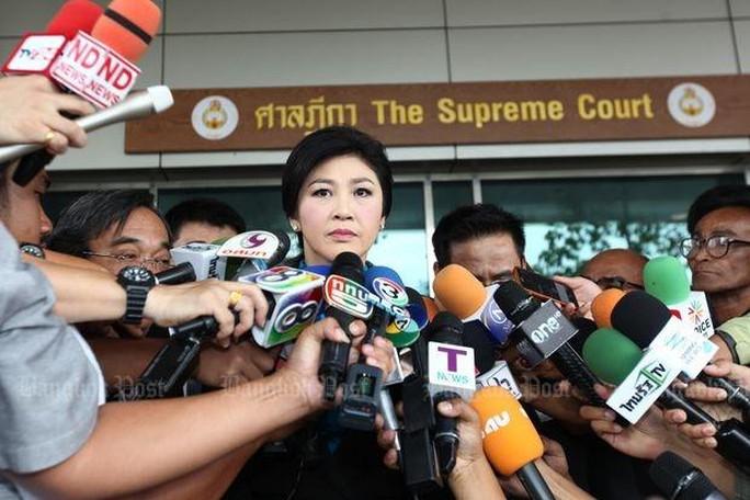 Bà Yingluck Shinawatra. Ảnh: The Bangkok Post