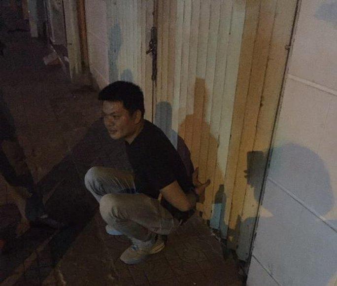 Nguyễn Tiến Dương khi bị bắt giữ