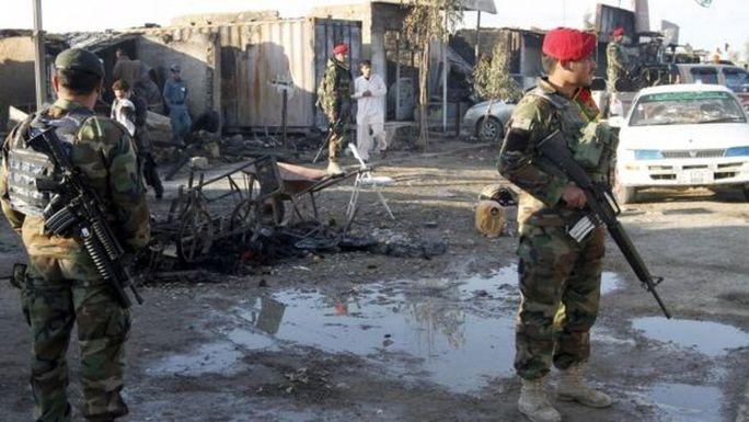 Lực lượng an ninh Afghanistan đã kiểm soát được tình hình. Ảnh: Reuters