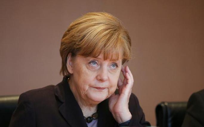 Thủ tướng Đức Angela Merkel. Ảnh: Reuters