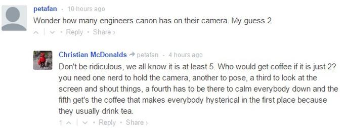 Ảnh chụp màn hình trên trang chuyên về nhiếp ảnh Petapixel.