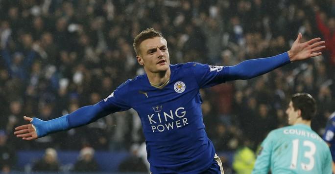 Sát thủ Vardy của Leicester