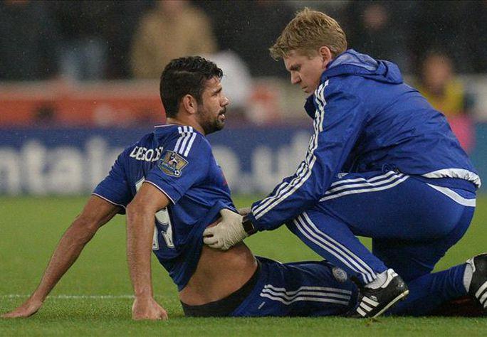 Costa khó binh phục cho trận gặp Liverpool vào cuối tuần