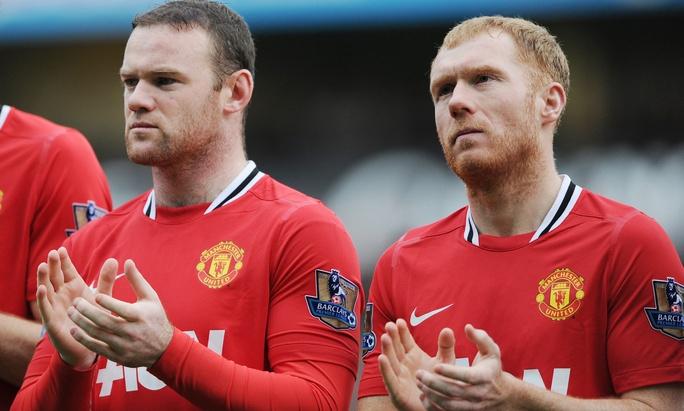 Paul Scholes và Rooney