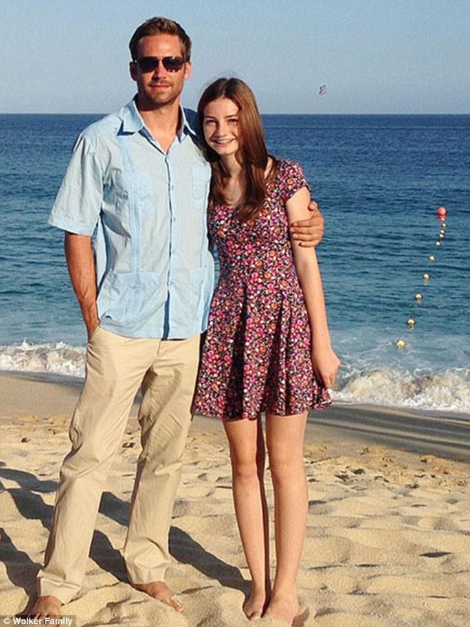 Paul Walker và con gái Meadow