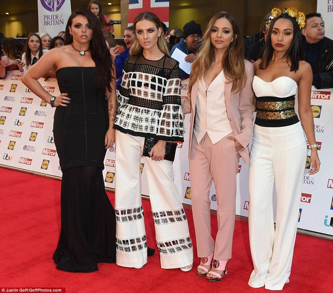 Jesy Nelson, Perrie Edwards, Jade Thirlwall, Leigh-Anne Pinnock