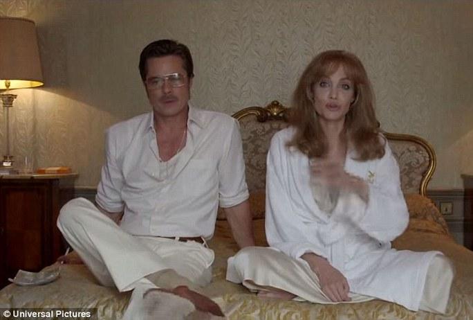 Brad Pitt và Angelina vào vai hai vợ chồng gặp rắc rối trong hôn nhân