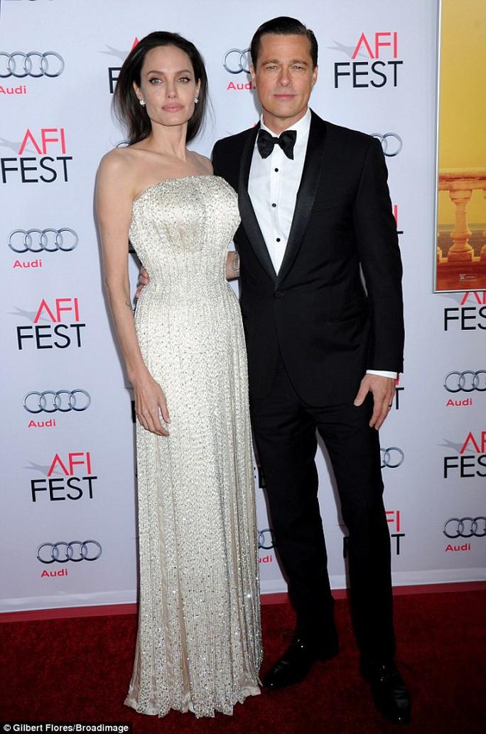 Vợ chồng Angelina Jolie quảng bá phim mới