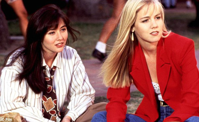 Shannen Doherty trong phim Beverly Hills 90210