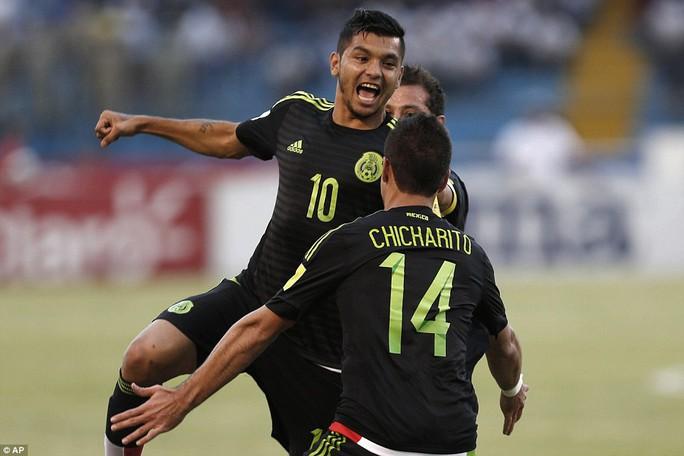 Đôi bóng của Chicharito giành chiến thắng trước Honduras