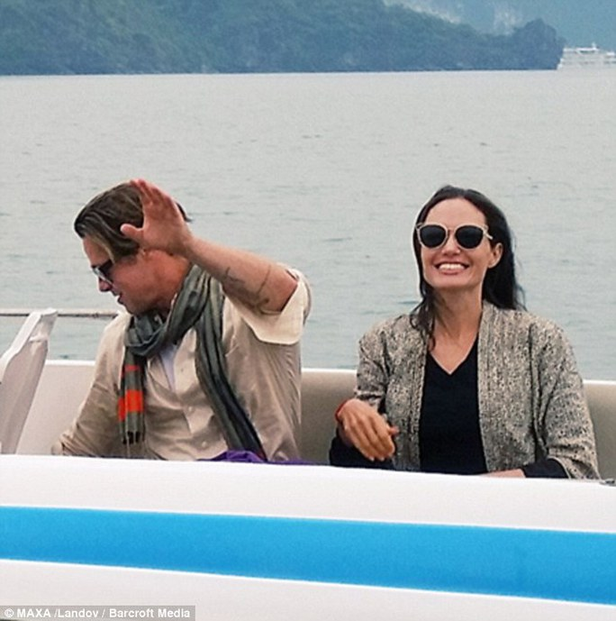 Vợ chồng Brad Pitt - Angelina