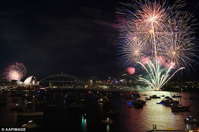 Sydney cũng sẽ ngập tràn ánh sáng trong thời khắc sắp tới.