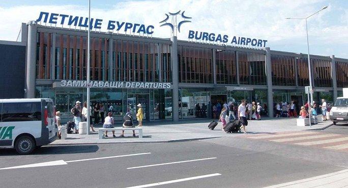 Sân bay Burgas. Ảnh: Sputnik News