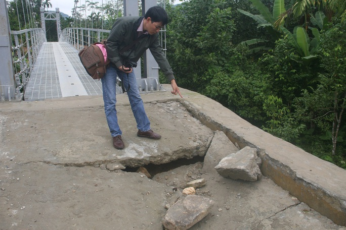Cây cầu này do Công ty TNHH MTV Duyên Hải thi công với tổng kinh phí hơn 3,17 tỉ đồng, được khánh thành đưa vào sử dụng vào ngày 11-11. Trong đợt này, tỉnh Quảng Nam được phê duyệt 12 cây cầu và tất cả đã được khánh thành.