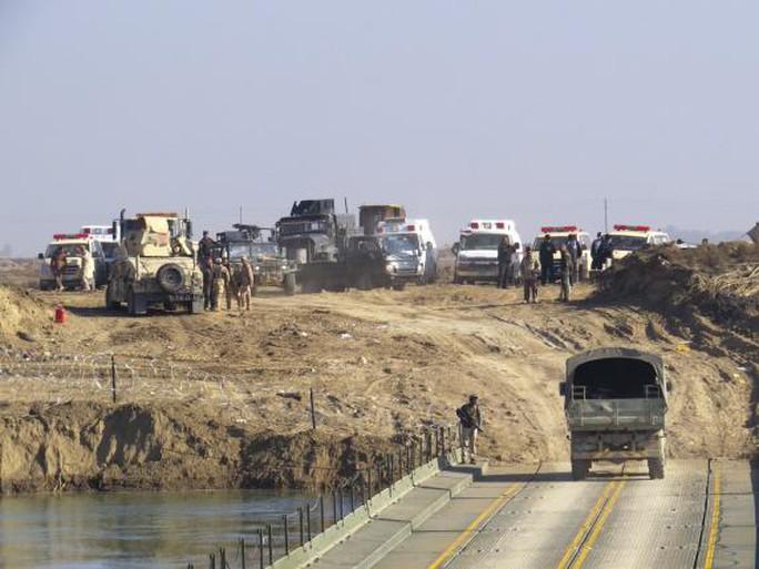 Quân đội Iraq chuẩn bị tiến vào trung tâm Ramadi. Ảnh: Reuters