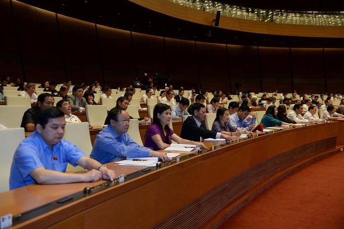 Quốc hội biểu quyết chọn ngày bầu cử Quốc hội khóa XIV, HĐND các cấp nhiệm kỳ 2016-2021 Ảnh: Nguyễn Nam