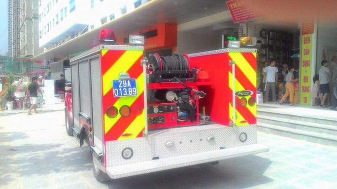 Lực lượng chữa cháy cũng được huy động, đến khi có mặt mới biết là báo cháy nhầm.