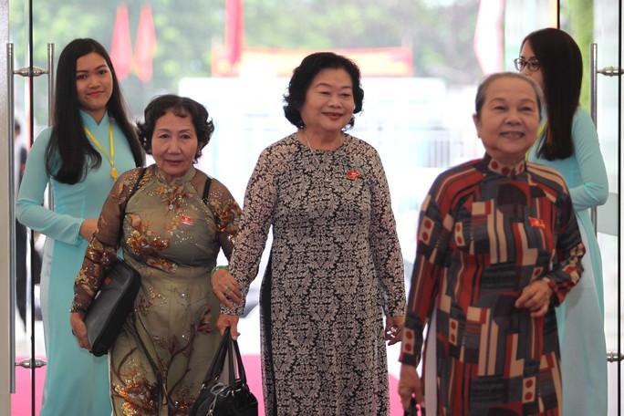 Nguyên Phó Chủ tịch nước Trương Mỹ Hoa được đón tiếp trọng thị.