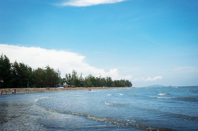 Bãi biển 30-4 tại Cần Giờ, TPHCM - Ảnh: Duy Nguyễn.