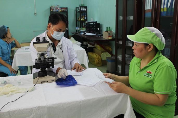 LĐLĐ quận Tân Bình, TP HCM tổ chức khám bệnh miễn phí cho công nhân Công ty Thuận Phát