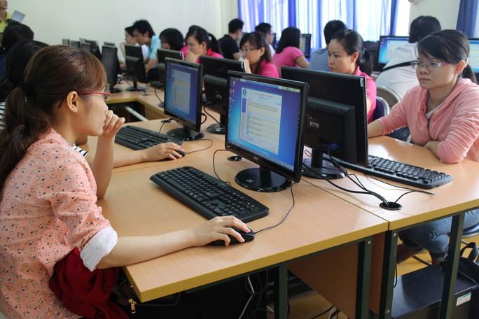 CNVC-LĐ tham gia Hội thi Tin học văn phòng do Công đoàn Tổng Công ty Văn hóa Sài Gòn tổ chức