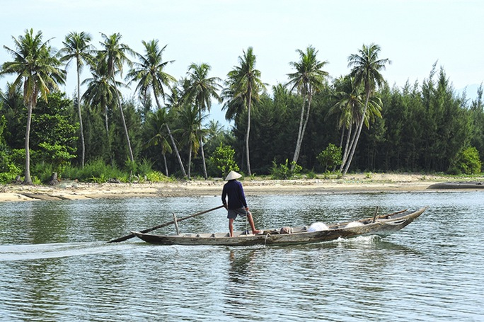Xã đảo Tam Hải rất đẹp và bình yên