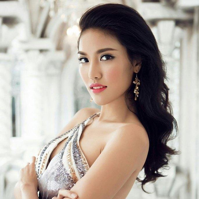 Lan Khuê, đại diện của Việt Nam tại Hoa hậu Thế giới 2015. (Ảnh lấy từ Facebook NV)