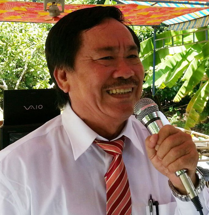 Nhạc sĩ Tô Thanh Tùng trước khi bị bệnh Ảnh: KHẮC VĂN