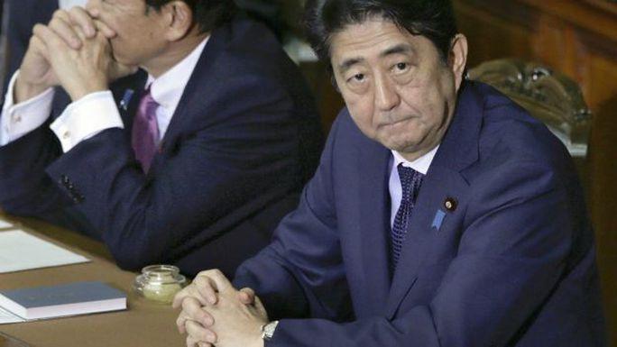 Thủ tướng Nhật Bản Abe. Ảnh: EPA